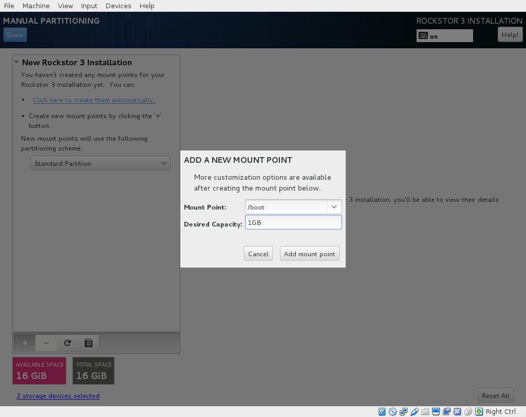 Mirroring Rockstor OS using Linux Raid — Rockstor documentation