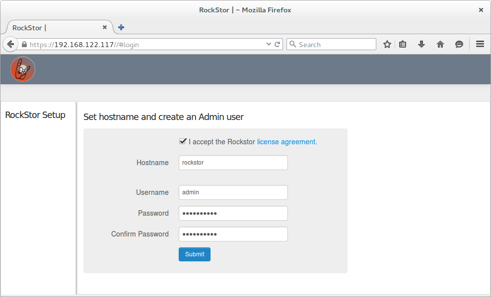 Rockstor In Virtual Machine Manager Guide Rockstor Documentation