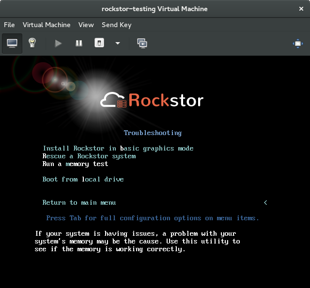 Pre-Install Best Practice (PBP) — Rockstor documentation